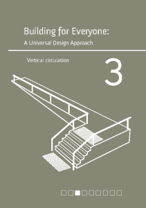Building for everyone: A universal design approach