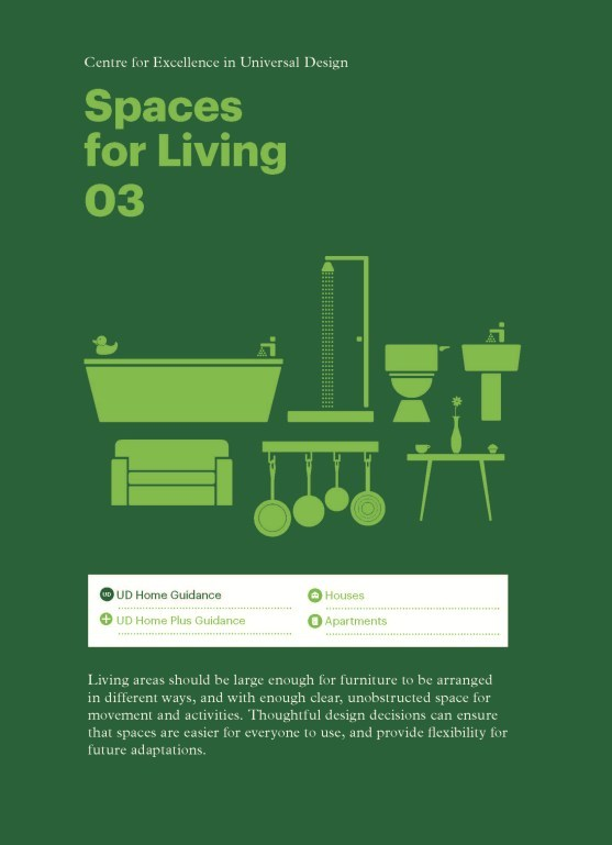 Universal Design Guidelines For Homes In Ireland Section 3 Es Living