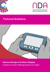 Technical Guidelines for in Home Displays | Centre for ...