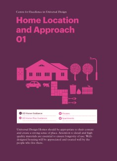 Universal Design Guidelines For Homes in Ireland - Section 1
