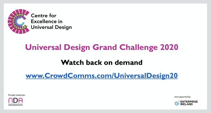Watch the Universal Design Grand Challenge 2020 held on 11th November 2020