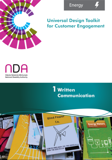Energy Toolkit Written Communication - Front Cover