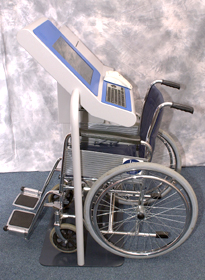 Knee clearance for wheelchair users